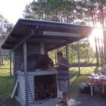 A community group built this DIY wood fired oven
